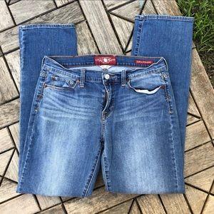 Lucky Brand Jeans Sofia Straight Size 12